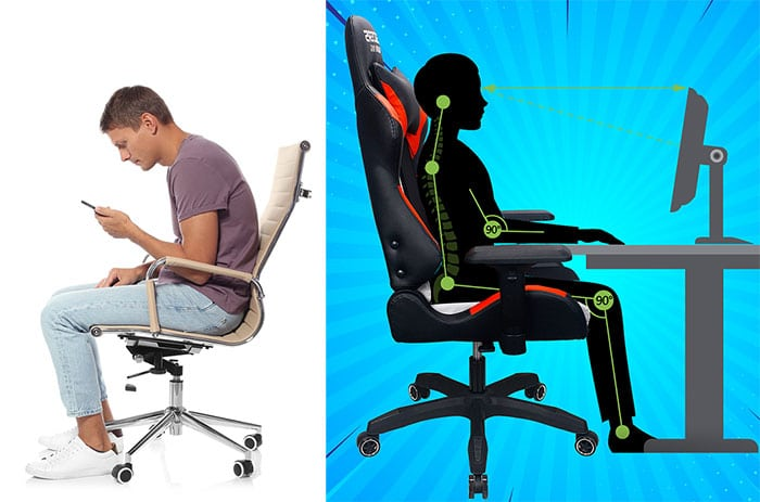 Gaming chair posture benefits