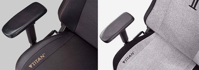 Titan XL leather vs Softweave