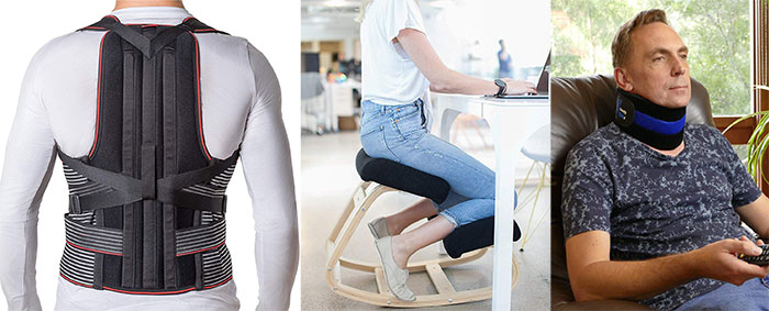 Posture correction devices