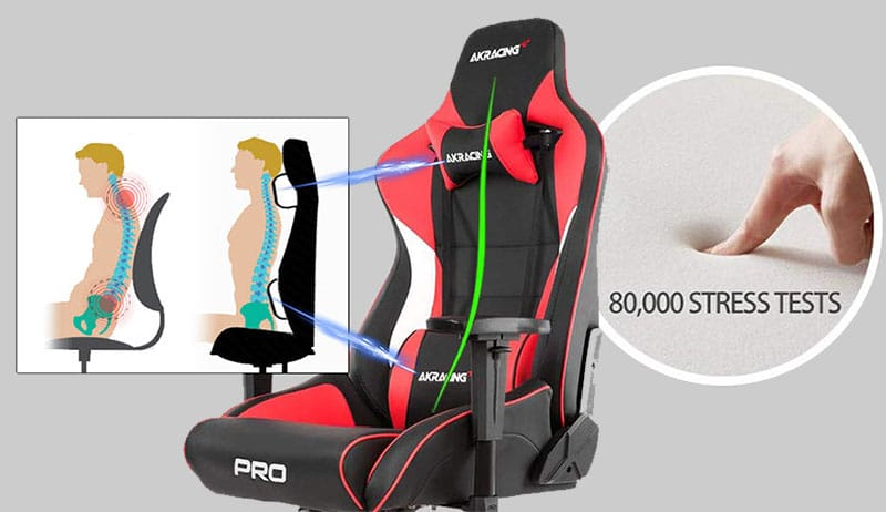 AKRacing chair padding