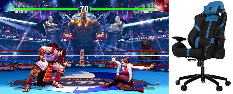 Vertagear sponsors Capcom Cup
