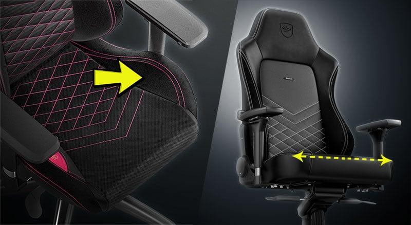 EPIC vs HERO seat style