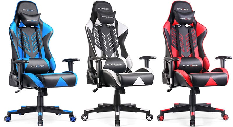 GTRacing GT007 gaming chairs