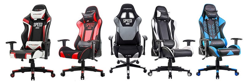 GTRacing Pro Series gaming chairs