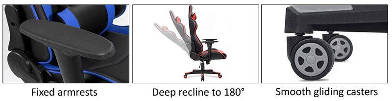 Homall Classic gaming chair features