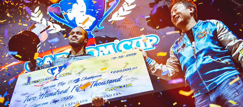 iDom 2019 Capcom Cup winner