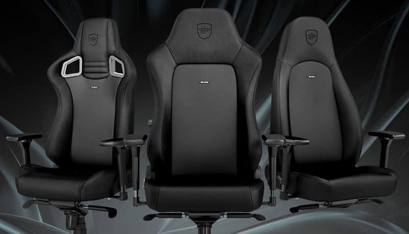 Noblechairs new all black editions