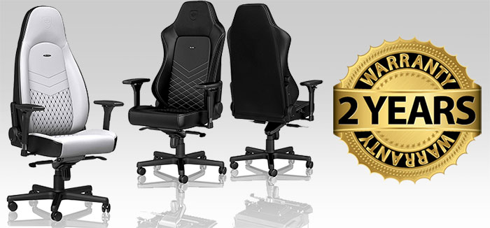 Noblechairs warranty