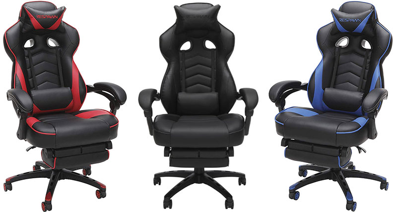 Respawn 110 footrest gaming chair