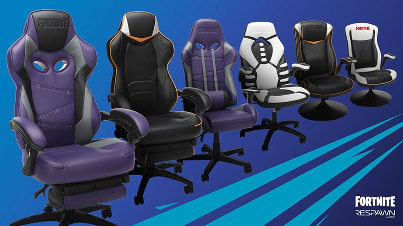 Respawn Fornite official gaming chairs