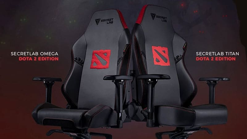Secretlab Dota 2 edition chairs