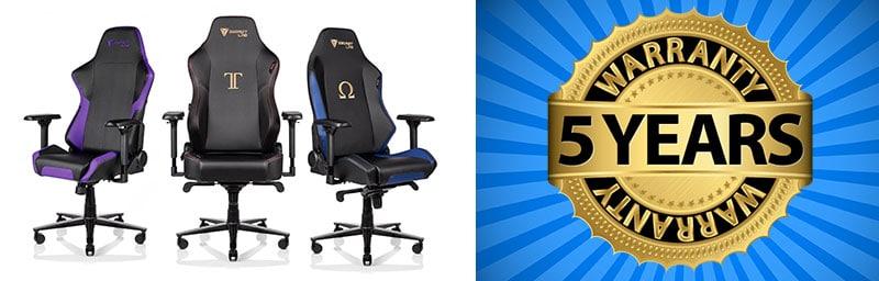 Secretlab gaming chair warranty