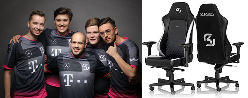 SK Gaming and Noblechairs partnership