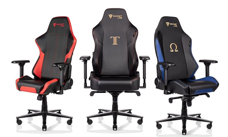 Secretlab Throne, Titan and Omega