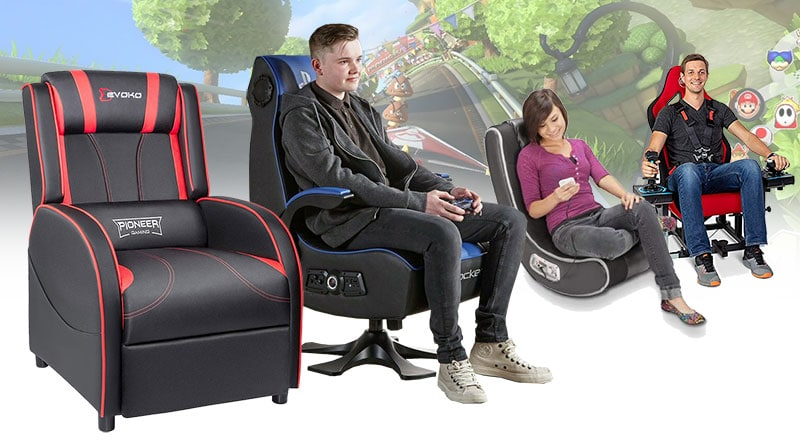 4 types of console gaming chairs