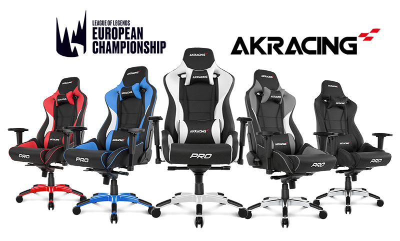 AKRacing partners with European League of Legends Championships (LEC)