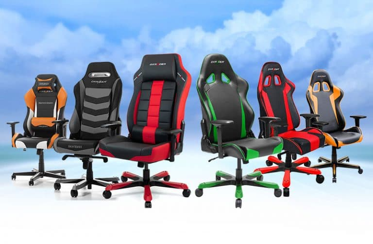 DXRacer gaming chairs brand overview