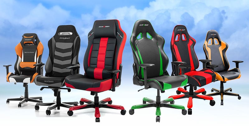 DXRacer gaming chairs: best models