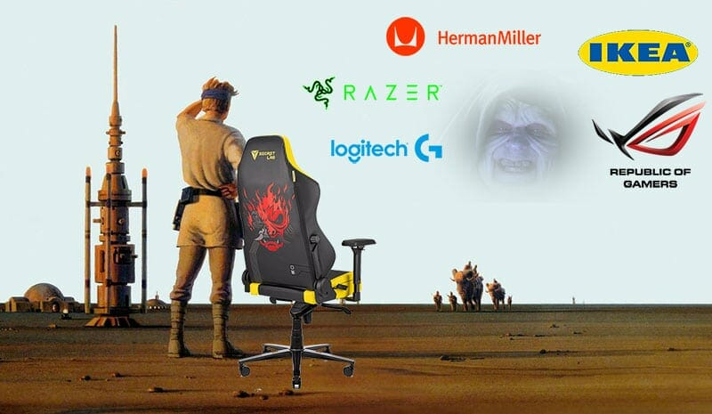The Empire returns to lay siege on the gaming chair market