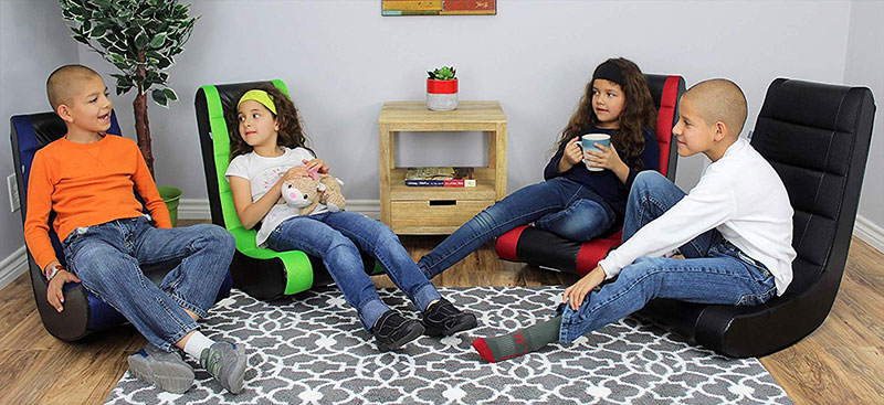 The Crew Furniture Classic Video rocker for kids