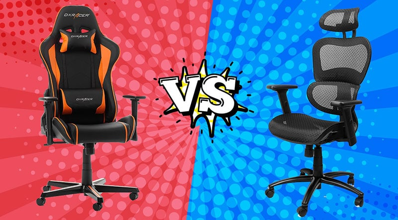 DXRacer vs Komene office chair