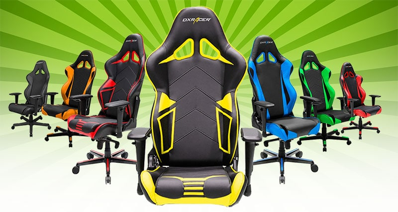 DXRacer Racing Series chairs