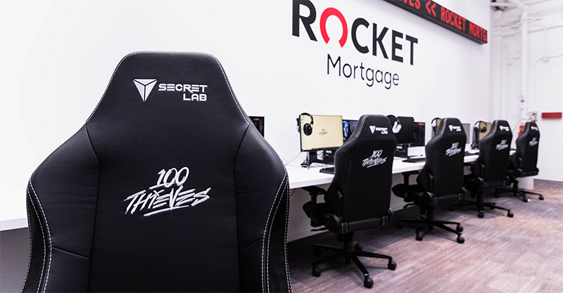 Secretlab special edition 100 Thieves chairs