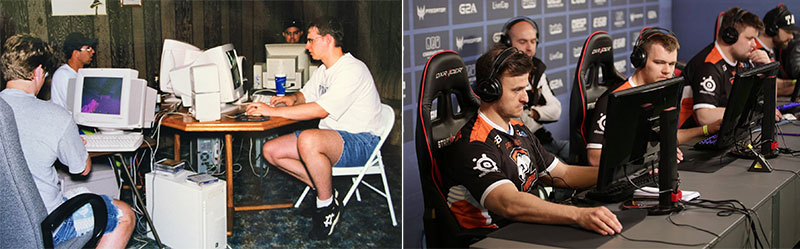 Evolution of pro esports gaming chairs