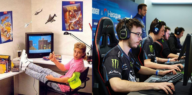 Unofficial history of gaming chairs