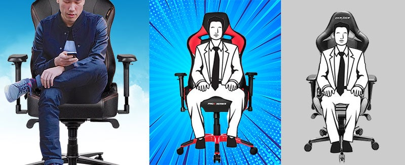 Large pro esports gaming chairs