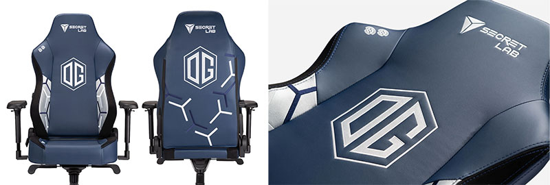 OG Esports official team chairs by Secretlab