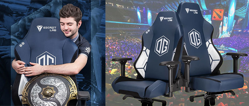 Secretlab OG Esports official team chairs