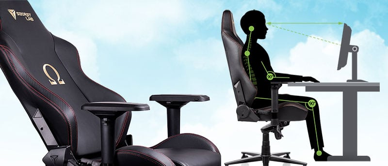 Secretlab chair ergonomics