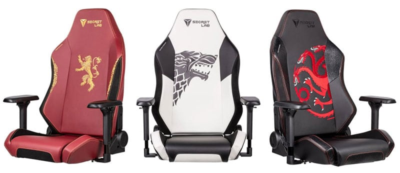 Omega Game of Thrones chairs
