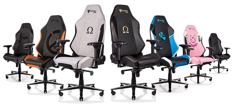 Secretlab Omega 2020 Series gaming chairs