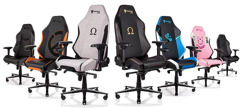 Secretlab Omega 2020 Series gaming chairs