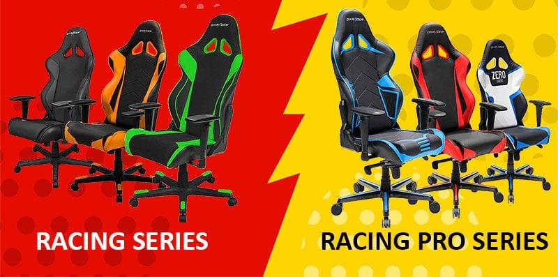 Racing Series vs Racing Series PRO