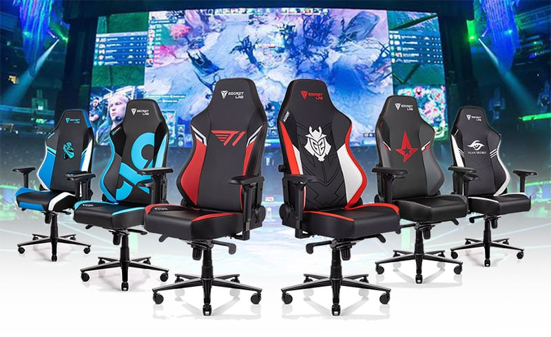 Secretlab esports official team chairs