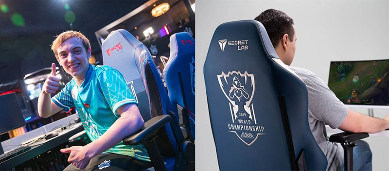 Pro esports chairs for consumers