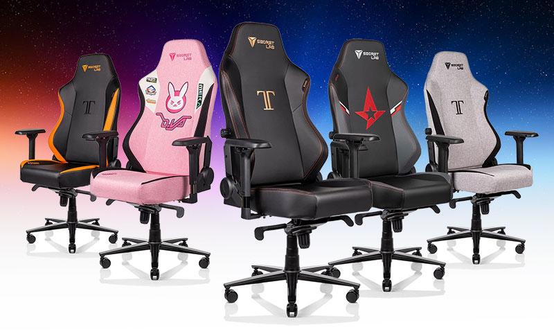 Secretlab Titan esports chairs