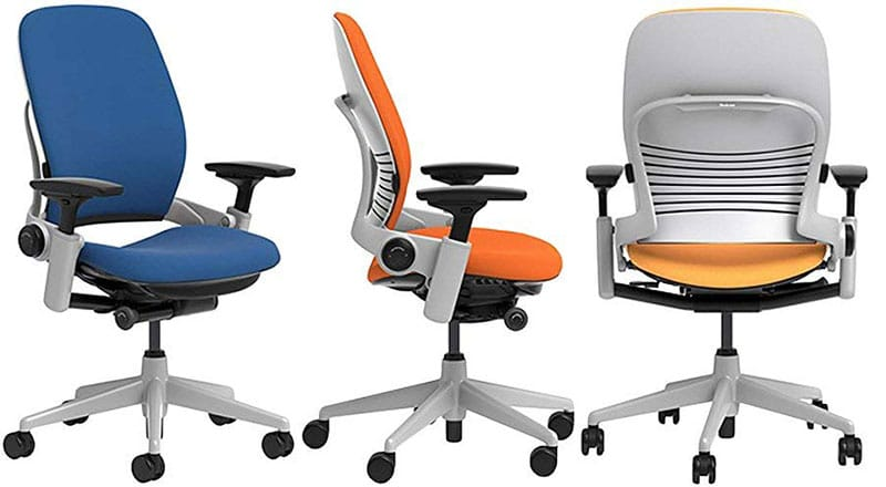 Steelcase Leap ergonomic chair