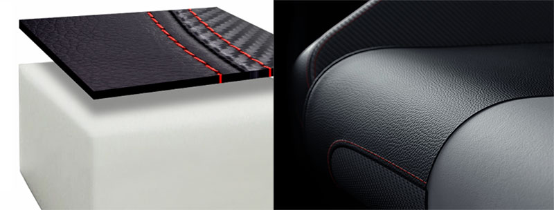 Titan 2020 Series foam padding