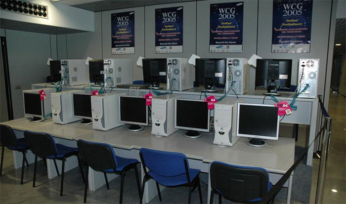 World Cyber Games 2005 setup