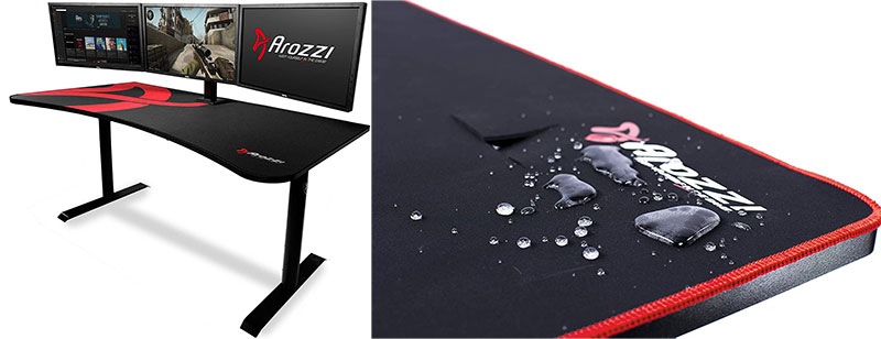 Arozzi Arean gaming desk