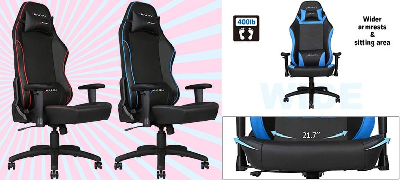 E-Win big and tall cheap gaming chair
