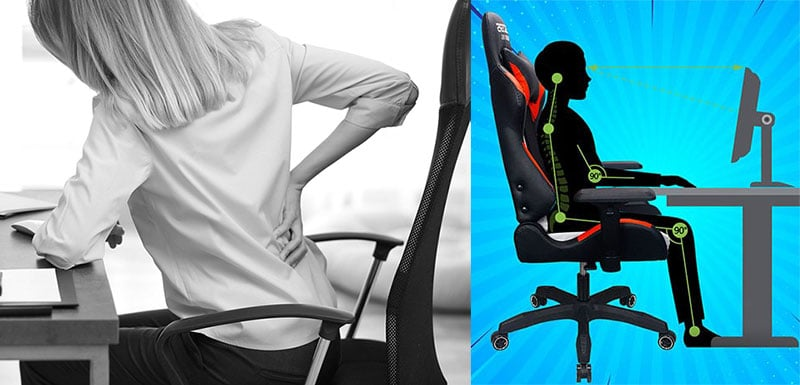 Using PC gaming chairs in the workplace