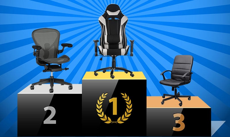 Gaming chair advantages over task chair and office chairs