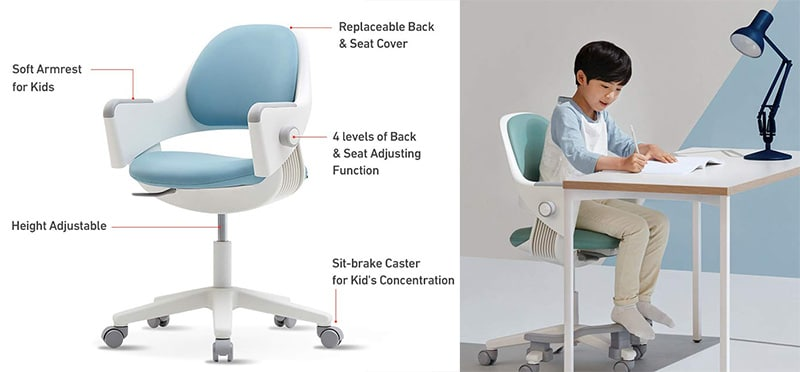 Sidiz Ringo small gaming chair features