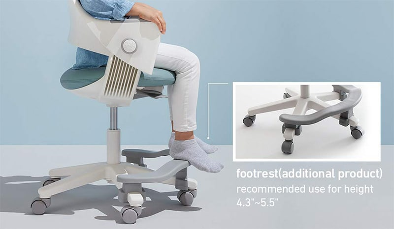 Sidiz Ringo small gaming chair footrest