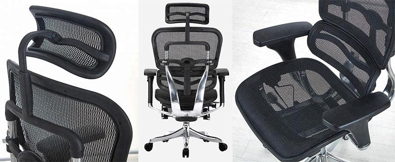 Ergohuman chair features